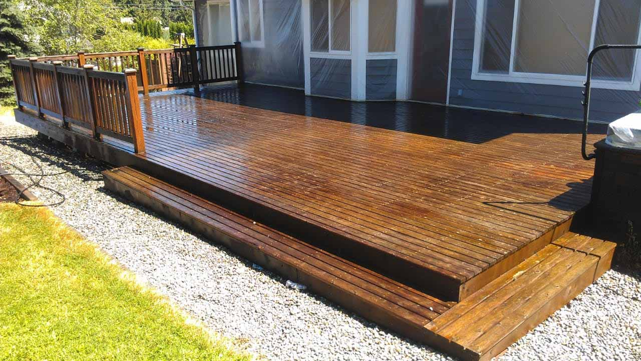 Before After Gallery Deck Refinishing Ltd